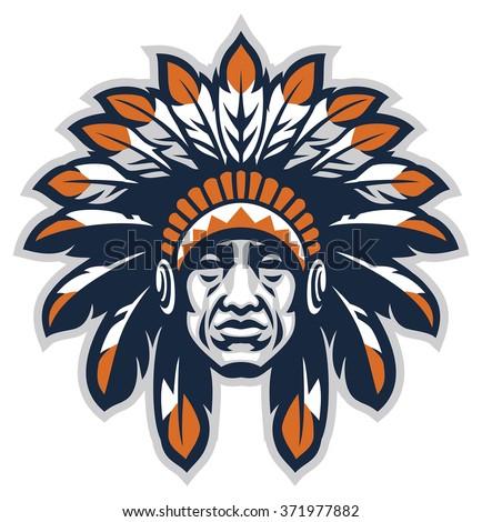 indian head mascot