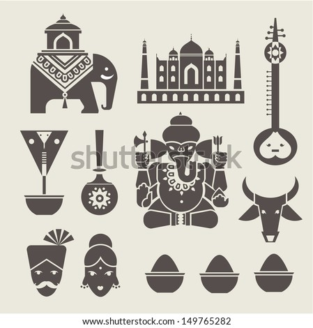 Indian icons