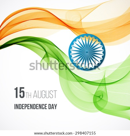 indian independence day concept
