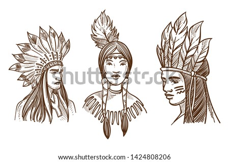 Indian Chief Mascot - Download Free Vector Art, Stock Graphics & Images