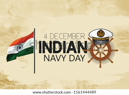 indian navy day poster  banner