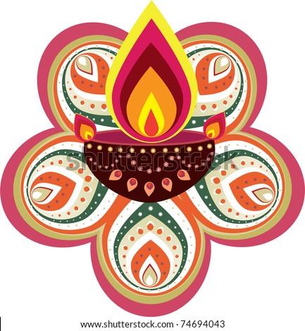 Indian new year elemet