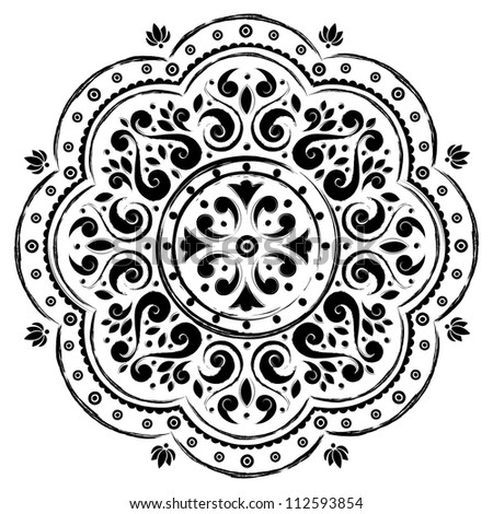 Indian ornament