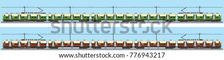 Indian Railway passenger train