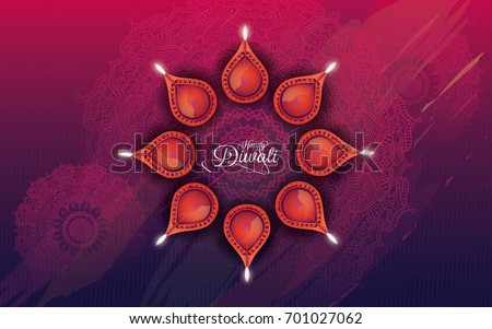 stock-vector-indian-religious-festival-diwali-background-with-lamps
