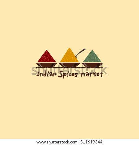 indian spices market logo