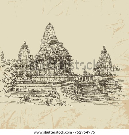 indian temple khajuraho temple