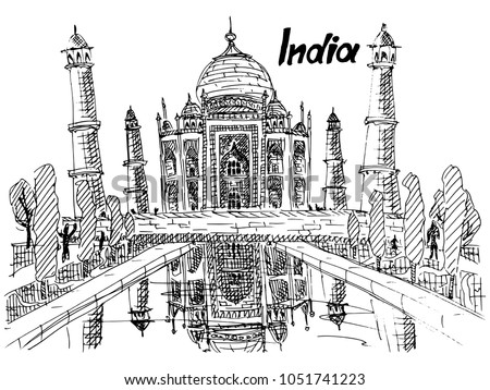 indian tomb of a rich indian