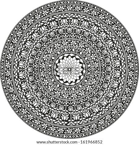 Flower Mandala Iphone Wallpaper And White Flower Mandala