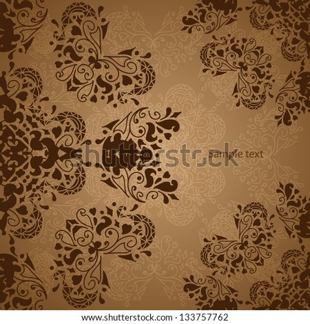 Indian Vintage Ornament Vector illustration for your business presentation