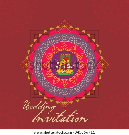 Vector Images Illustrations And Cliparts Indian Wedding