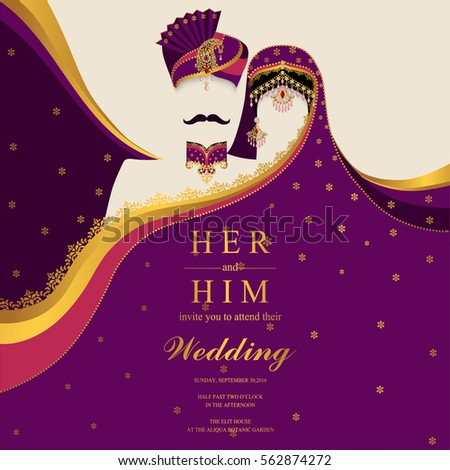 Royalty Free Stock Photos And Images Indian Wedding Invitation Card