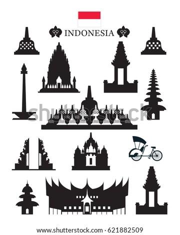 82 Gambar Siluet Candi Borobudur Paling Bagus