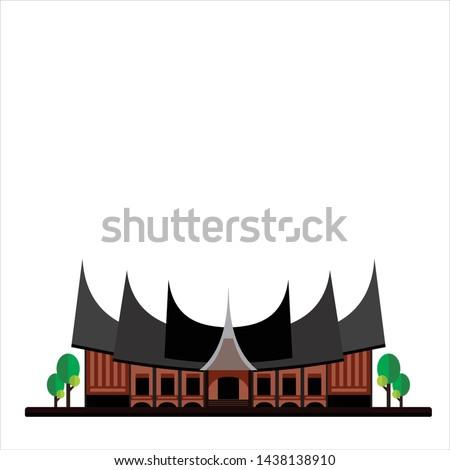 indonesian traditional house rumah gadang