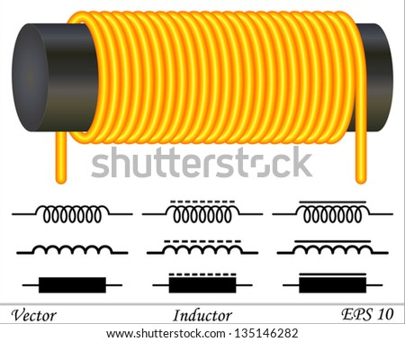 inductor coil Stok fotoğraf ©