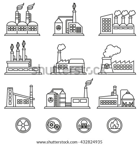 industrial building factory and