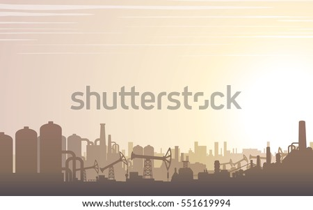 industrial buildings skyline