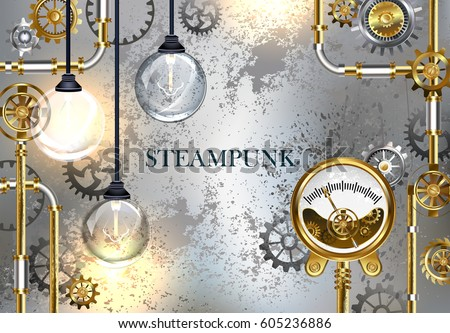 industrial gray background with