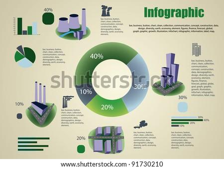 Industrial info graphics