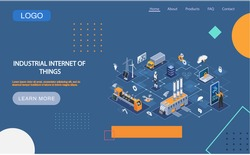 Industrial internet of things 4ir revolution, AI, IoT. Computerized data storage and protection management. Robot engineer controls equipment using digital devices, modern industrial technologies