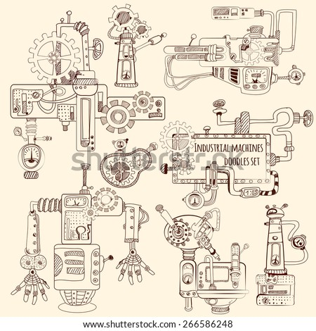 industrial machines engines and