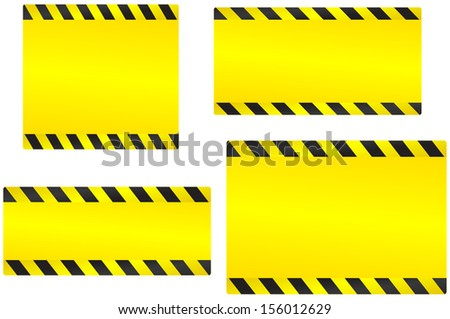 industrial set of abstract