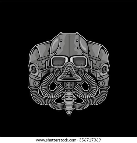 industrial skull