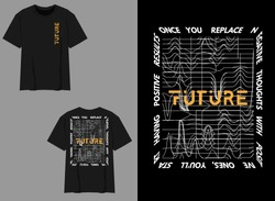Industrial Streetwear Graphic Design Abstract Future Design