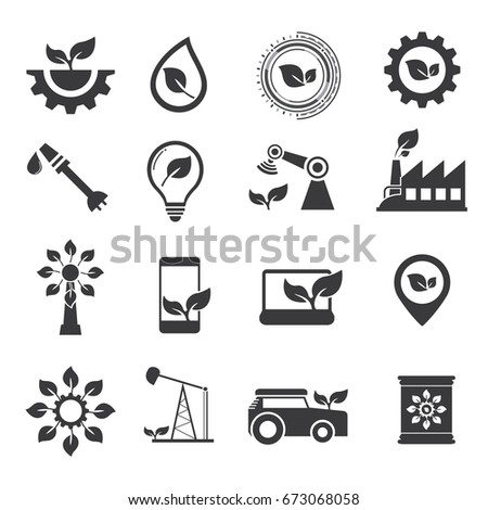 Industrial technology of agriculture icon