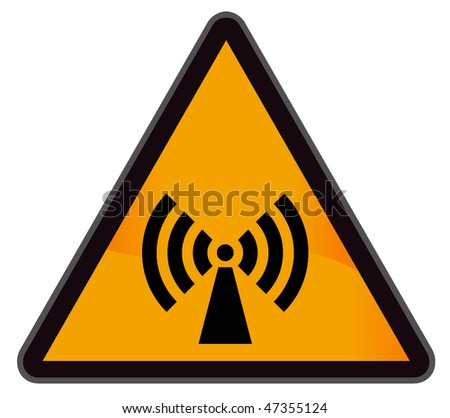 industrial warning signs wi-fi