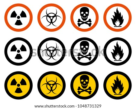 sign of poison vectors download free vector art stock graphics