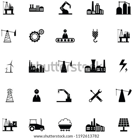 industry icon set