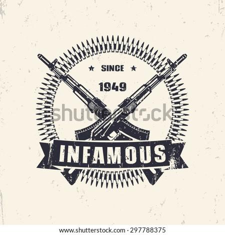 infamous since 1949  vintage