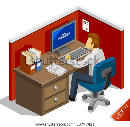 Infected by Virus - stock vector