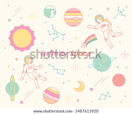 infiniti space astronauts and