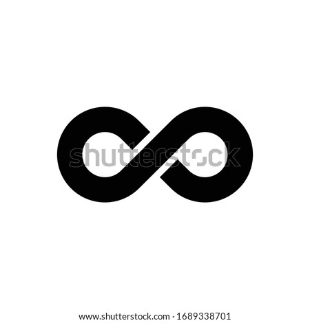 Infinity Icon for Graphic Design Projects