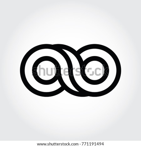 infinity logo  8 number