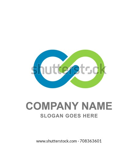 Infinity Medical Healthcare Abstract Logo Vector