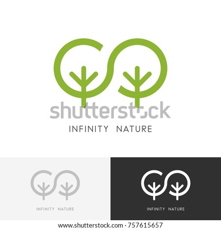 infinity nature logo   two