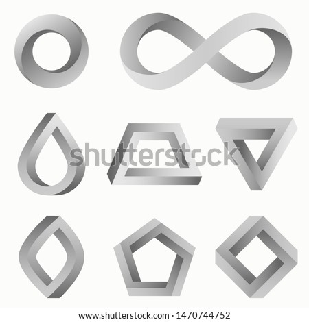 infinity symbol and various