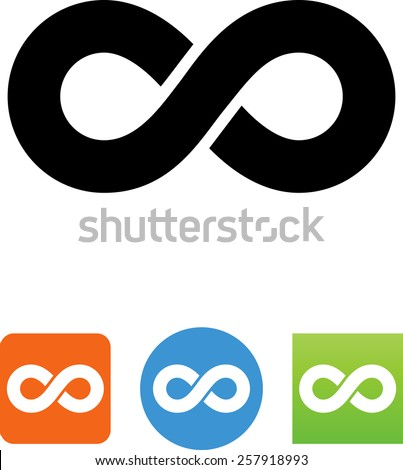 Infinity symbol for download.