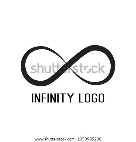 infinity symbol logo.for start up company