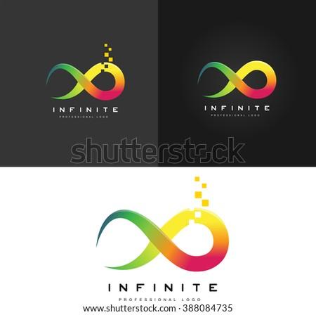 infinity symbol logo limitless