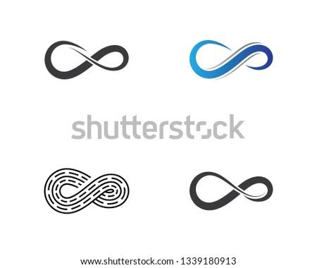 Infinity vector icon #1339180913