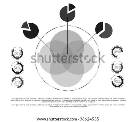 Info graphic - stock vector
