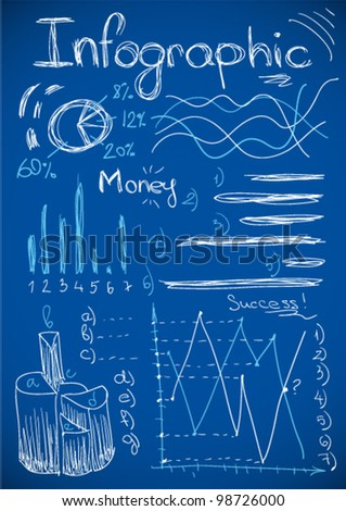 Info graphic - stock vector