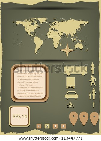 Info graphic. Vector illustration