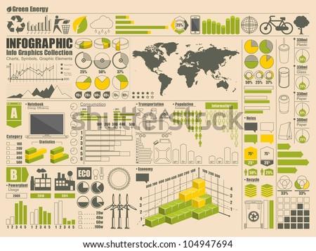 Info Graphics Set, vector elements