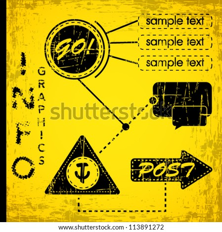 Info-graphics Vector Art