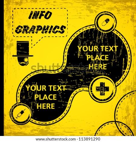 Info-graphics Vector Art